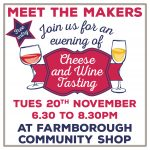 Wine and Cheese Tasting – 20 November